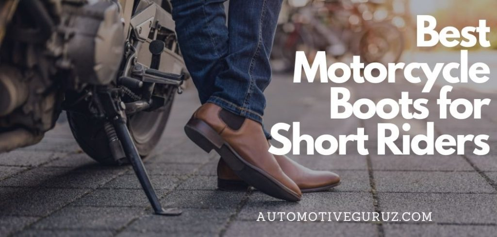 Best Motorcycle Boots for Short Riders