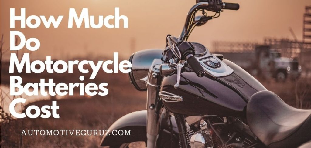 How Much Do Motorcycle Batteries Cost