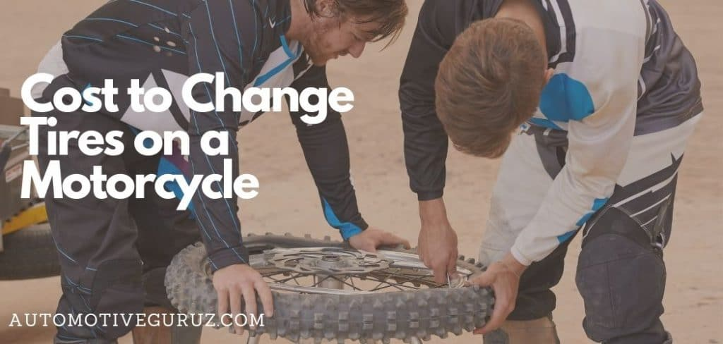 How Much Does It Cost to Change Tires on a Motorcycle
