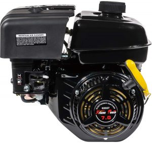 XtremepowerUS 7HP OHV Industrial Grade 4-Stroke Gas Engine